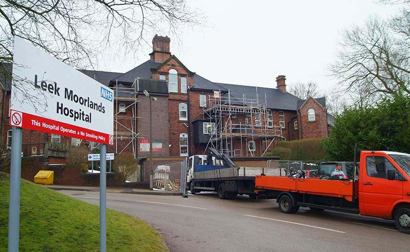 Leek Moorlands Hospital Renovation